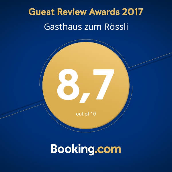 Booking Guestreview 2017